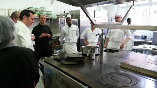 SWID sous vide at Ferrandi training in Paris