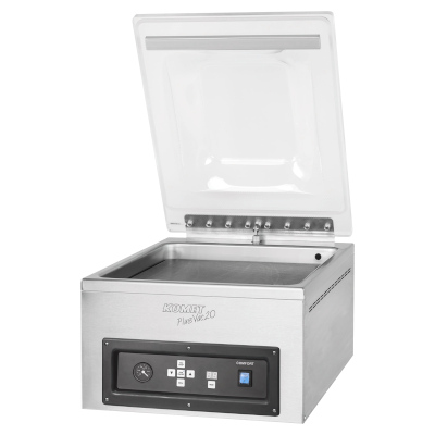 PlusVac 20 Professional vacuum chamber machine from Komet sold by Sous Vide Consulting