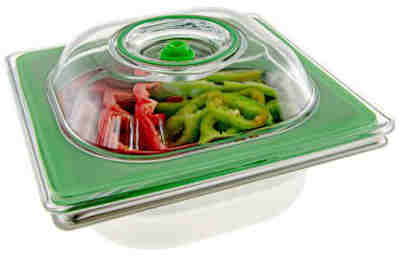 Universal Gastronorm 1/9 lid to put under vacuum stainless steel GN container