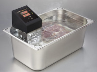 SWID Premium immersion circulator in a 28 liter container