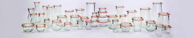 WECK glass jars wholsale on pallet