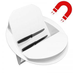 Magnetic flatware separator